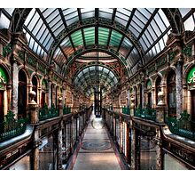 County Arcade Leeds Photographic Print