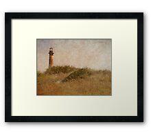 The Old Lighthouse Framed Print