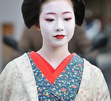 Geisha in Kyoto by Edy Lianto