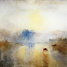 Norham Castle, Sunrise - Joseph Mallord William Turner  by ANNETTE HAGGER
