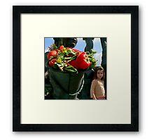 Vegetables Are GOOD For You! Framed Print