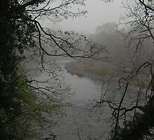 Fog over River Wye by Kevin McNeill