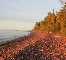 Red Rocks of Lake Superior by Karen K Smith