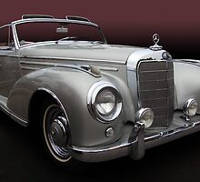1957 Mercedes 300 SC Cabriolet by WildBillPho