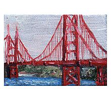 Golden Gate (Obligatory) Photographic Print