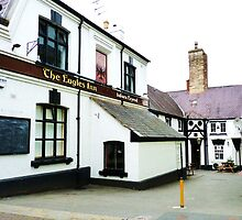 The Eagles Inn, Denbigh, North Wales by artfulvistas