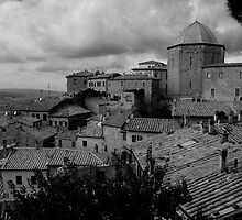 Volterra Italy by Sandy Taylor