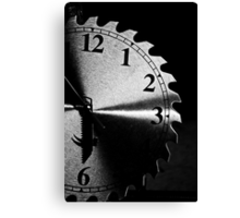 cutting edge times Canvas Print