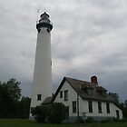 New Presque Isle New Lighthouse by BarbL