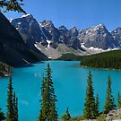 Moraine Lake, Valley of the Ten Peaks...a Gigapan panorama by Darbs