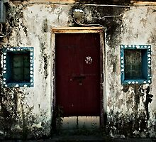 Doors of Hong Kong 1 by Aiwei Yu