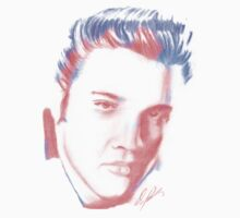 elvis drawing Kids Clothes