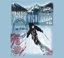 aspen highland skiiing by redboy