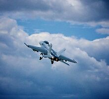F-18 at Farnborough Air Show by iLaw