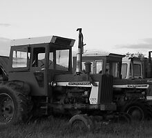 Three Tractors  by dwservingHim