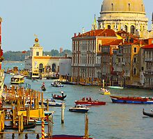 The old Italian town of Venice by a1luha