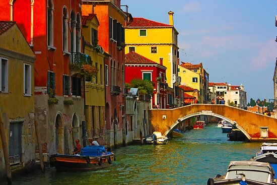 Romantic places of Venice  by a1luha