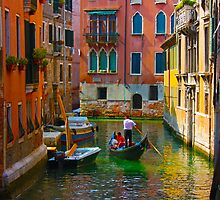Romantic places in Venice by a1luha