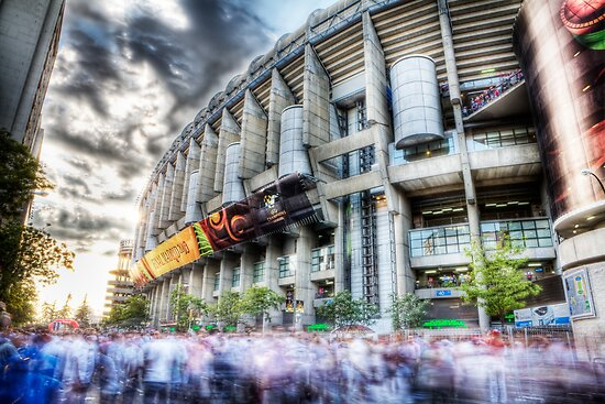 Santiago Bernabeu - Madrid by david gilligan
