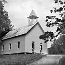 Methodist Church of Cades Cove by Lisa G. Putman