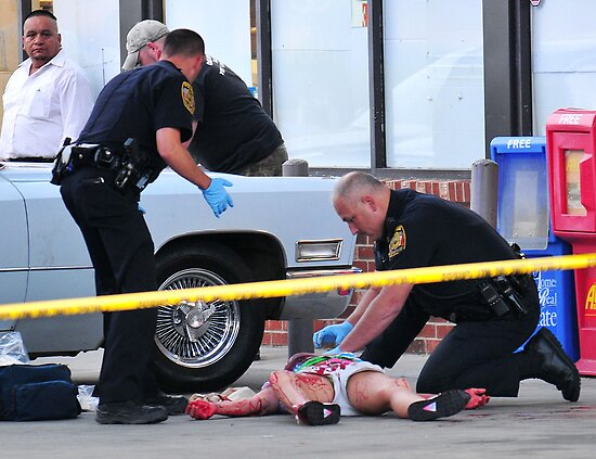 Police Officer Saves a Life by Eric Abernethy