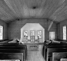 Little Church in the Big Woods II by Lisa G. Putman