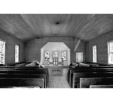 Little Church in the Big Woods II Photographic Print
