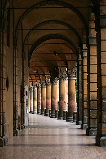 Arcades of Bologna (2) by Segalili