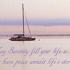 Serenity Card by Julia Harwood