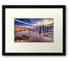 Sensational Seaside Scene Framed Print