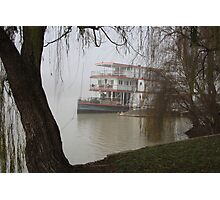 Marion in the fog... Photographic Print