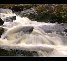 Falls of Dochart, Killin,Scotland by Gordon Holmes