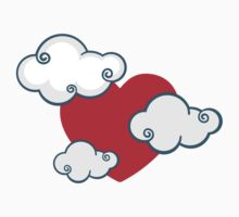 cloudy heart by EasyArt