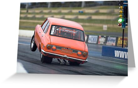 Mazda RX-2 Drag Car by inmotionphotog