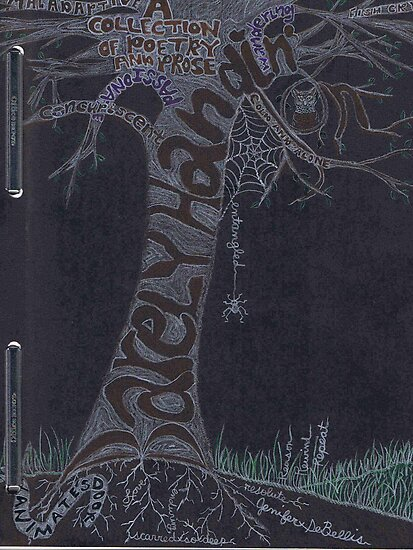 Journal Entry: Porfolio Cover Art (the beginning of a learning journey) by Jenifer DeBellis