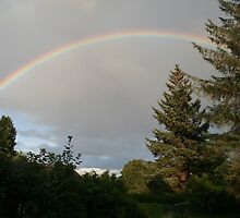 Rainbow, Inverness-shire, Scotland by Teuchter