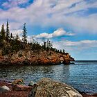 Arch at Tettegouche State Park by by M LaCroix