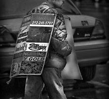 Sandwich Man by Peter Maeck