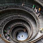 Spiral Staircase by Inge Johnsson