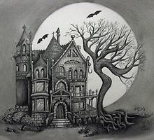 Spooky House by Sandra Parlow