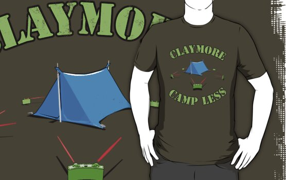 Claymore, camp less. by ChickenSashimi