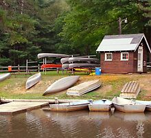 Summer at the Boyscout Camp by vigor