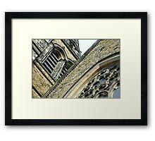 St. Brycedale Church facades Framed Print