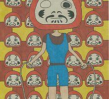 daruma by Yumiko Awae