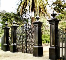 Williamstown Botanical Gardens Entrance by EdsMum