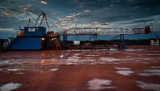 Rain on my Rig! by Craig Hender