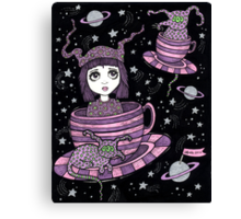 Fifi's Flying Saucers Canvas Print