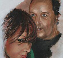 Tamara and Darrel by Almeta