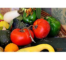 """ A Couple of Tomatoes "" Photographic Print"