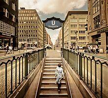 Berlin - Urban Core   01 by Frank Waechter